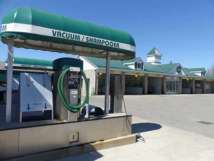 Ingersoll Car Wash - vacuums